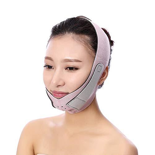 FREEDOH Gesicht Bandage, Gesicht Abnehmen Maske/Anti Falten Face Lift V Form Linie/Anti Aging/Skin Firming/Massageentspannung Heben Entspannung Heben