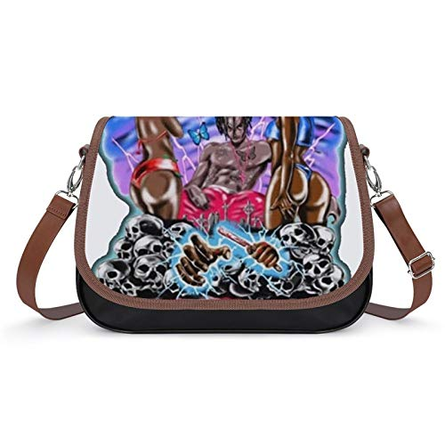 Lionel Philip PU Leather Bag Cross Body Bag Shoulder Handbag Women Playboi Carti Crossbody Shoulder PU Bag for Ladies