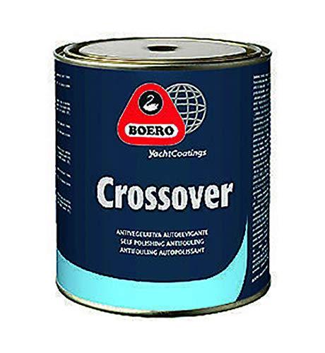 Boero Crossover - Antivegetativa autopulente ad alte prestazioni - pirate - colore: NERO, size: 2,5 lt