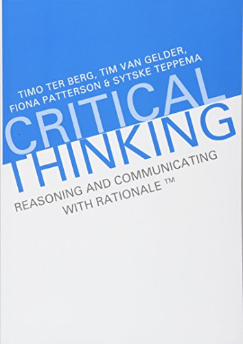 Critical Thinking Reasoning And Communicating With Rationale