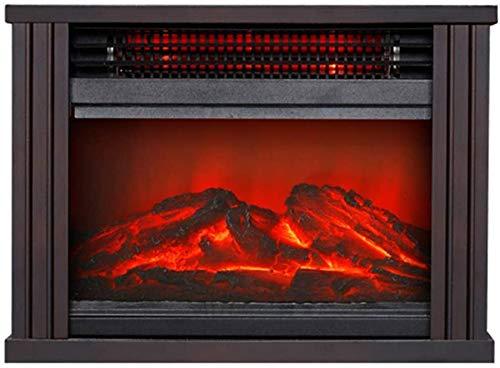 XHCP Calentador de Chimenea eléctrico, Estufa de calefacción Interior portátil con Efecto...