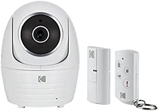 Kodak Security Camera Full HD Starter Kit Edition with Door Sensor and Remote Control - White
