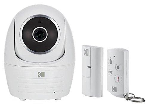 KODAK IP101WG Kit de Videovigilancia con Cámara de Seguridad Full HD 1080p Alarma y Sensor de Movimiento - Starter Kit