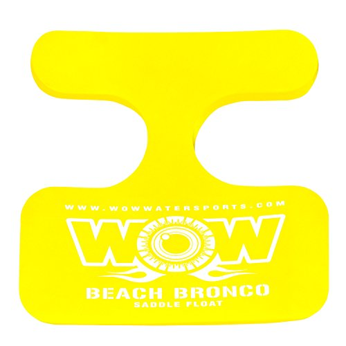WOW World of Watersports, 14-2150 Beach Bronco Floating Pool Seat, Saddle Float, Yellow