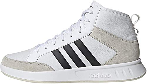 adidas Performance Court 80 S Sneaker Herren Weiss/schwarz, 9 UK - 43 1/3 EU - 9.5 US