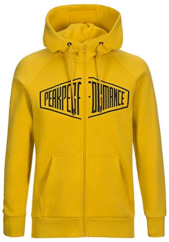 Peak Performance Sportswear Zip Hood Desert Yellow - M