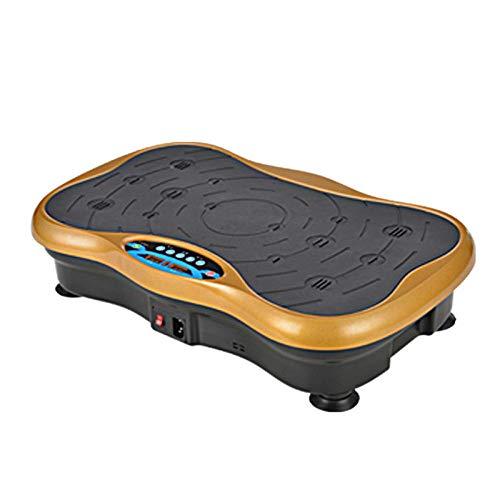 B/H Ultra Slim Power Vibrationsplatte,Fettheber- und Schüttelmaschine, Faule Sportkörperformungsmaschine - Lokales Gold,Vibrationsplatte Leicht zu Bedienen