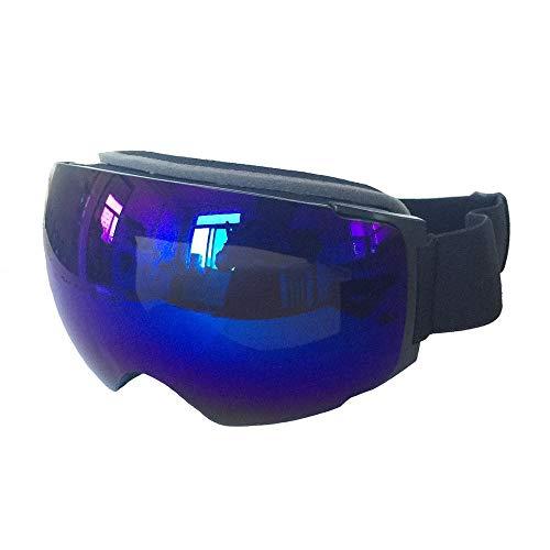 Yi-xir diseño Clasico Múltiples Hoja de Lentes similares antifogging imán de Campo Grande Gafas de esquí globosa Moda (Color : 3, Size : 22.6 * 10cm)