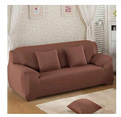 FLYAWAY Sofabezüge Stretch 1/2/3/4 Sitz Elastic Sofabezug Für Wohnzimmer Universal Sofa Schonbezug Home Sectional Couchbezug Spandex Sofa Sover Stretch-2-Seater 145-185Cm