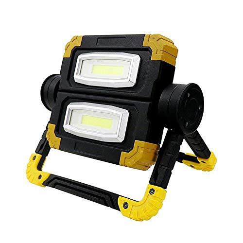 Camping Lanterna Torcia elettrica di caccia Lanterna di emergenza ricaricabile 700LM impermeabile USB del lavoro della luce IP65 luce di campeggio, di facile controllo.