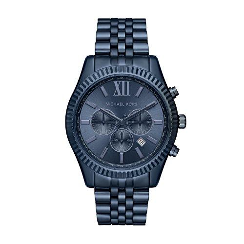 Michael Kors Reloj Analógico para Hombre de Cuarzo con Correa en Acero Inoxidable MK8480