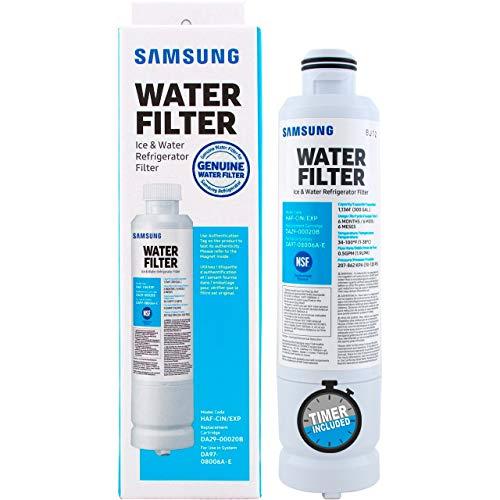 Filtro de Agua Original DA2900020B para Refrigerador Samsung   Envio Inmediato   Incluye Garantía y Cronómetro para monitorear la vida tu filtro   S1OX