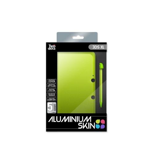 Skin Protection Aluminium + Stylet - Green Apple Pour 3DS XL [Importación...