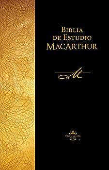 Biblia de estudio MacArthur Reina Valera 1960 Tapa Dura Café / Spanish MacArthur Study Bible Reina Valera 1960 Hardcover Brown  Spanish Edition