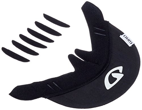 Giro Bicycle Helmet Replacement Cloth Visor (Black)