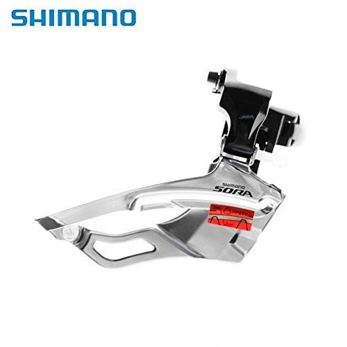 Shimano Sora FD-3503 Desviador Delantero Bicicleta De Carretera Bicicleta Plegable 3503 Piezas De Bicicleta 3X9 Velocidad Desviador Original 31,8mm 34,9mm (Color : Clamp 31.8mm)