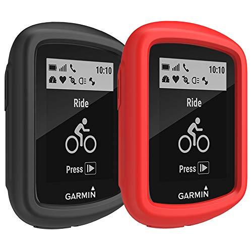 [2-Pack] TUSITA Funda para Garmin Edge 130 - Protectora de Silicona Skin - Accesorios para computadora con GPS