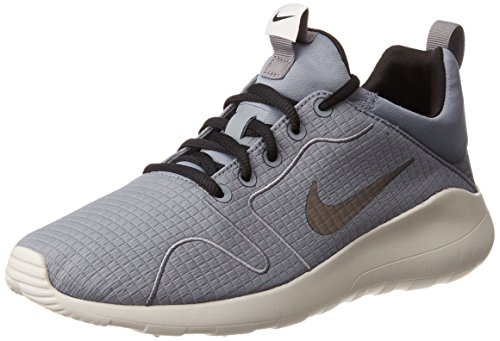 Nike Herren Kaishi 2.0 Prem Sneakers, Mehrfarbig (Cool Grey/Black/Light Bone), 45 EU