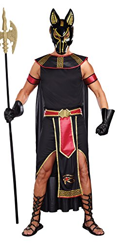 DreamGirl 10251 Anubis God of the Underworld costume (2 x -large)