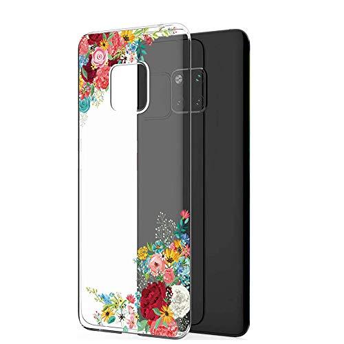 Handyhülle Kompatibel mit Huawei Mate 20 Pro Hülle,Huawei Mate 20 Case TPU Transparent Silikon Flexibel Ultra dünn Weicher Bumper Anti-Scratch Case für Mate 20 Lite Hülle (Huawei Mate 20, 6) - 2