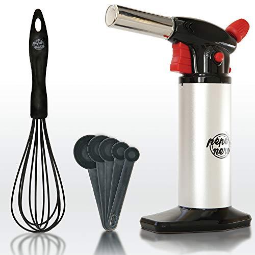 Creme Brulee Torch Set - Butane Torch Kit - Kitchen...