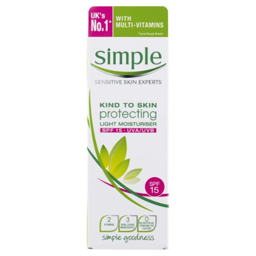 Simple Kind To Skin Protecting Light Moisturiser 125ml