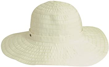 SCALA Women's Sewn Ribbon Crusher Hat