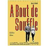 Breathless A Bout De Souffle Jean-Luc Godard Carteles de películas clásicas y lienzo impreso Pintura de pared Lienzo decorativo para el hogar (50X75Cm) -20x30 Pulgadas Sin marco