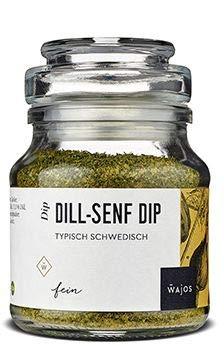 Dill Senf Dip typisch schedische Gewürzmischung 105g I Wajos Gourmet