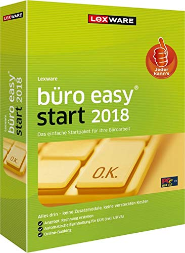 Lexware office Easy Start 2018 års version (365 dagar)