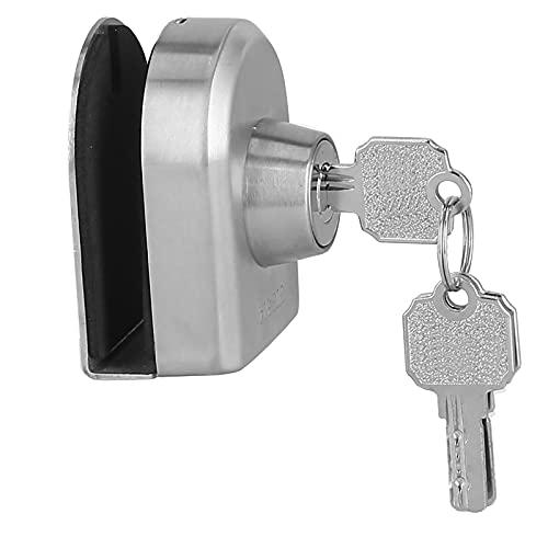 Cerraduras Para Puertas De Vidrio Sin Marco, No Se Caen Fácilmente, Antirrobo Y Antirrobo, Cerradura De Puerta Deslizante Para El Hogar Y La Oficina