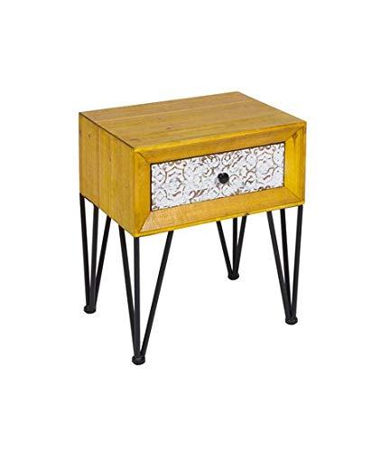 Table de Chevet Style Shabby Chic Nara