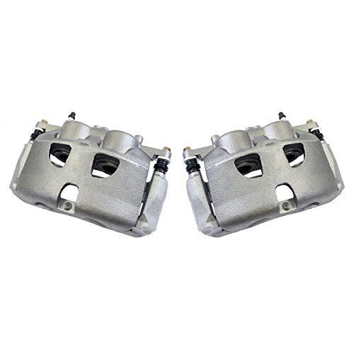 Callahan CCK02956 [2] FRONT Premium Grade OE Semi-Loaded Caliper Assembly Pair Set