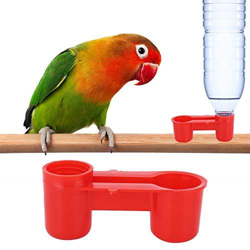 AUNMAS 20 Stks Plastic Vogel Drinker Feeder Soda Water Fles Boerderij Drinkvoer Gereedschap Drinkfontein Apparatuur voor Duif Kip