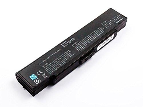 MobiloTec Akku kompatibel mit Sony Vaio PCG-7M1M, Notebook/Netbook/Tablet Li-Ion Batterie