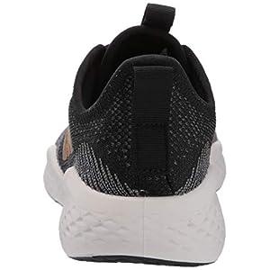 adidas Women's Fluidflow Running Shoe, core Black/Tactile Gold Met./Grey Six, 7.5 M US