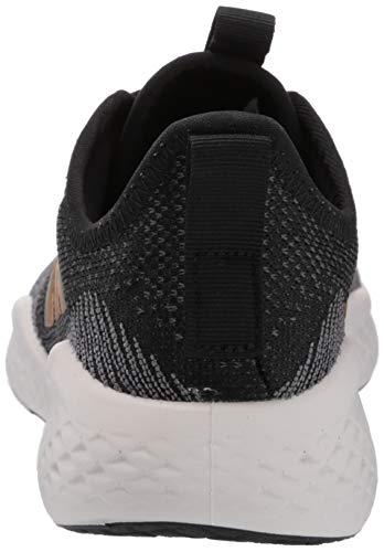 adidas Women's Fluidflow Running Shoe, core Black/Tactile Gold Met./Grey Six, 7.5 M US 3