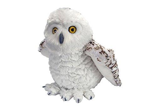 Wild Republic Snowy Owl Plush, Stuffed Animal, Plush Toy, Gifts for Kids, Cuddlekins, 12 Inches