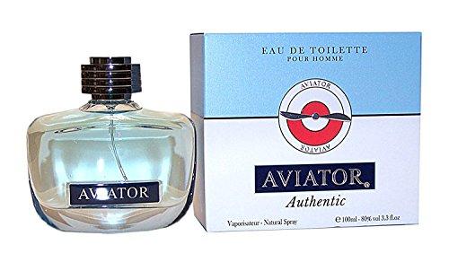 Paris Bleu Parfums AVIATOR AUTHENTIC Herrenduft Eau de Toilette POUR HOMME 100 ml