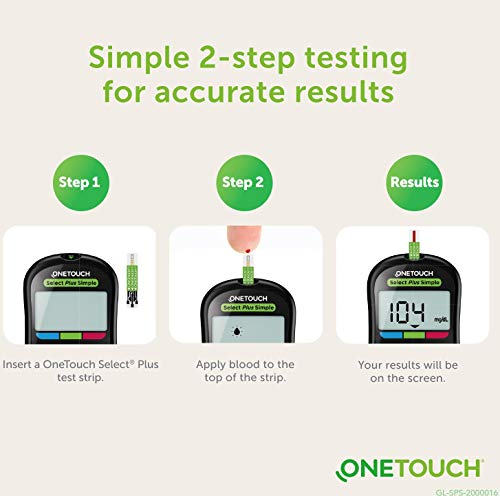 One Touch Glucometer Select Plus Simple