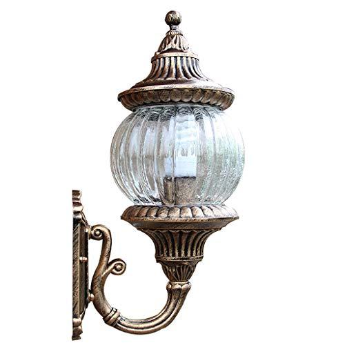 Buitenlamp, roest, waterdicht, ZS, wandlamp voor buiten, stroomvoorziening via voeding, wandlantaarn om op te hangen, buitenverlichting, waterdicht, voor tuin, hal, wandlamp.