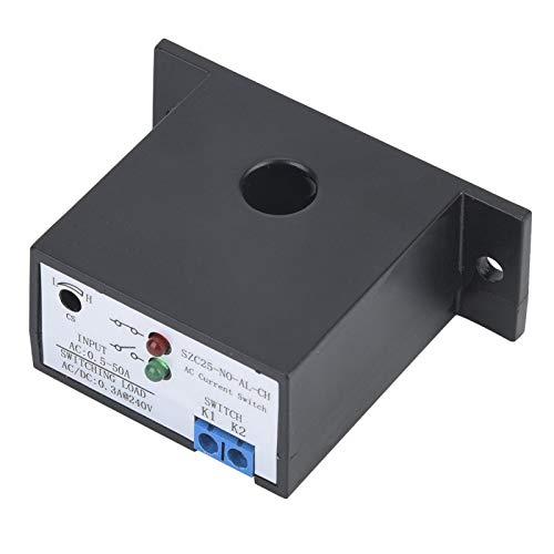 Interruptor de detección de corriente CA, SZC25-NO-AL-CH Autoalimentación Interruptor de detección de corriente CA normalmente abierto ajustable CA 0.5-50A, Interruptores industriales