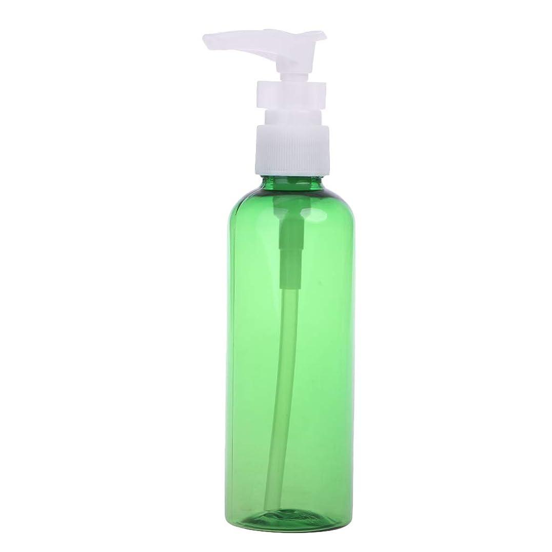 すごい気まぐれな作業Dabixx 1ピース30ミリリットル - 100ミリリットル石鹸シャンプーローション泡水プラスチックプレスポンプスプレーボトル - 深緑 - 100ML