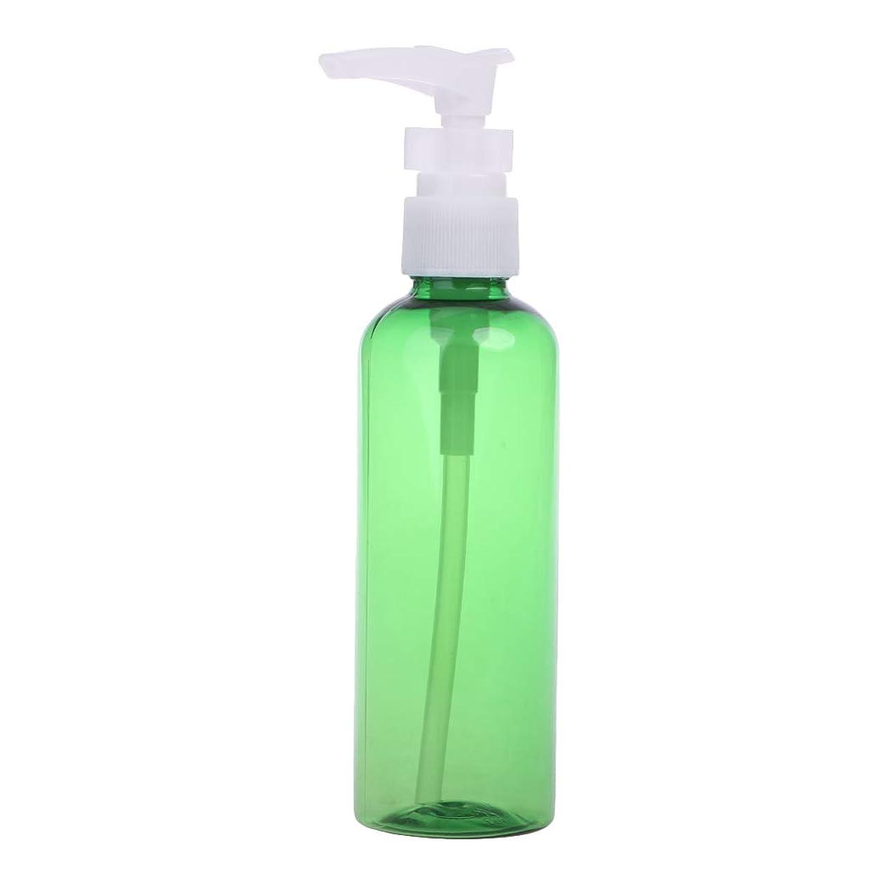 毎週薬用補助Dabixx 1ピース30ミリリットル - 100ミリリットル石鹸シャンプーローション泡水プラスチックプレスポンプスプレーボトル - 深緑 - 100ML