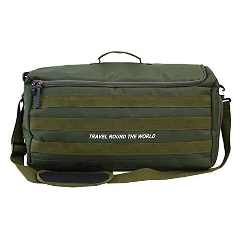 CuiCui Gym Bag Sports Bag Sports Duffels Heavy Duty Extra Large Travel Duffel Bag Laptop Bag with Wet Pocket & Shoes Compartment Gym Bag for Men And Women Travel Laptop Bag Workout Bag,Green