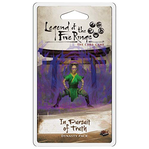 Fantasy Flight Games Legend of The Five Rings LCG: in Pursuit of Truth Dynasty Pack L5C31