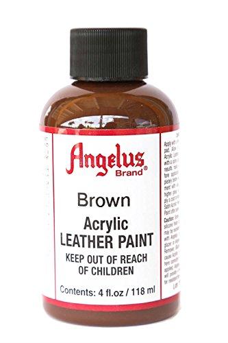 Angelus Acrylic Leather Paint-4oz.-Brown