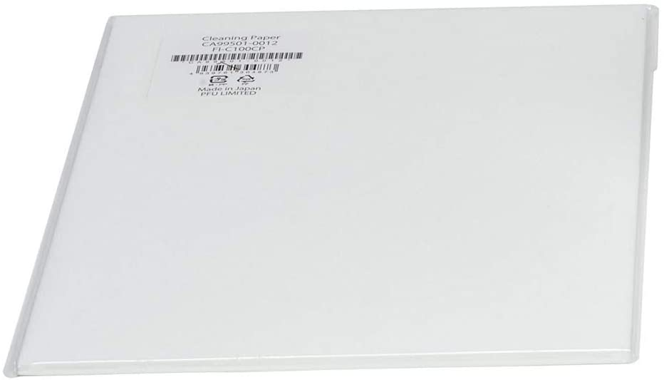 Fujitsu CA99501-0012 Cleaning Paper For M and F1 Series, Fi-5750C Scanner