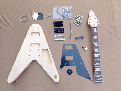エレキギターキットFVタイプ ER-KIT-FV、クリップチューナー付