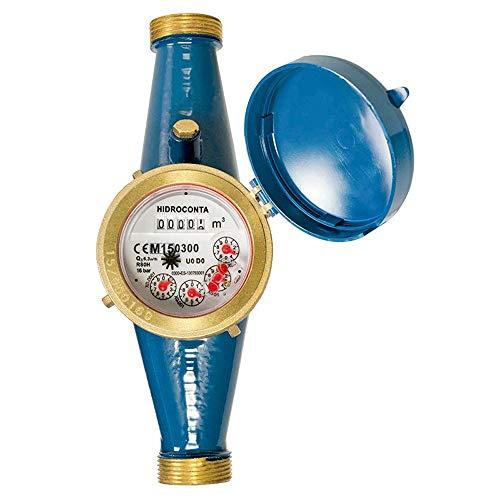 Contador de agua 25mm de chorro único esfera seca/Certifica